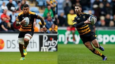 Hughes and Le Roux to leave Wasps at end of season
